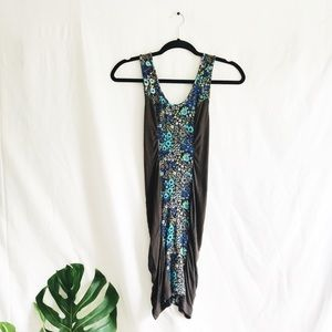 Intimately Free People Floral Slip Dress (Bodycon)